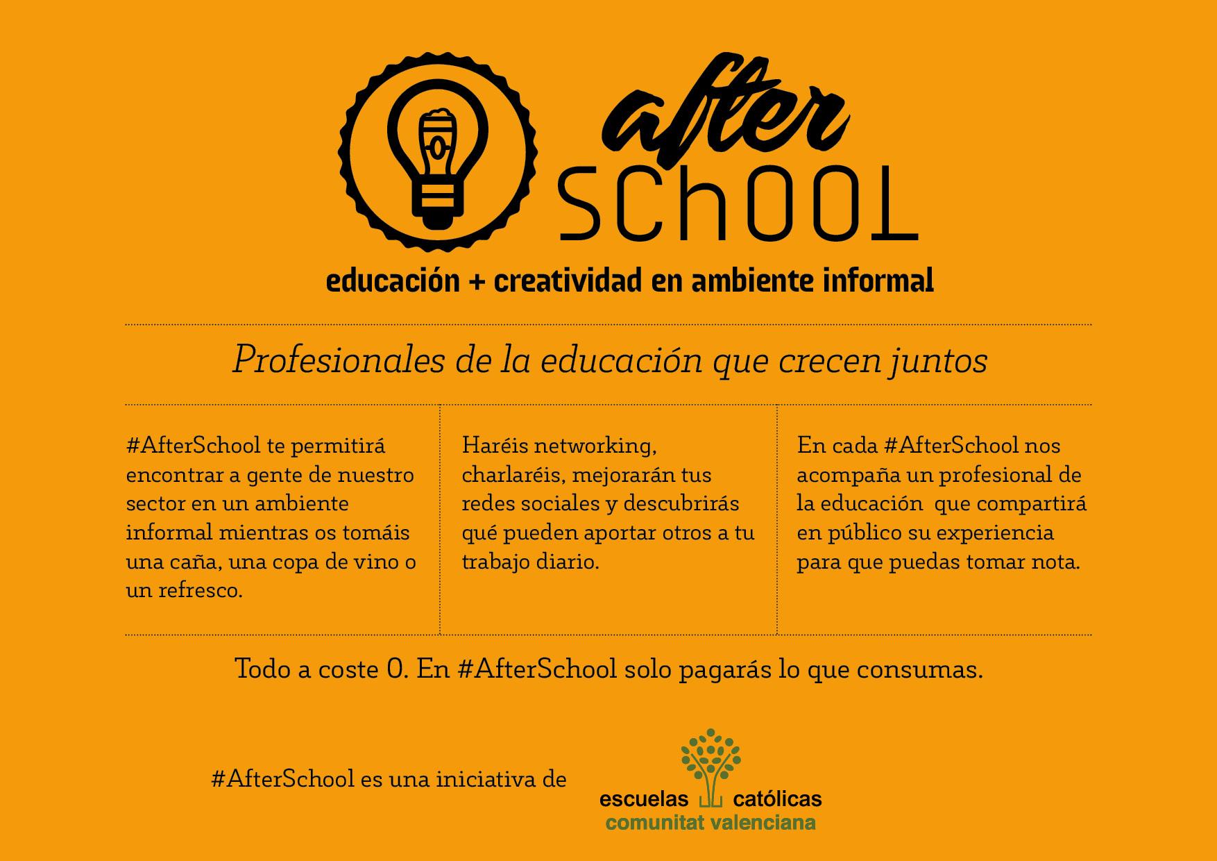 cartel afterschool explicacion