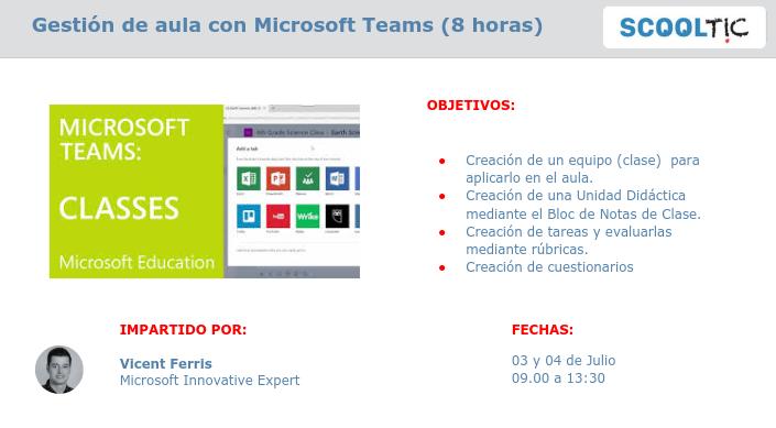 gestor aula Microsoft teams